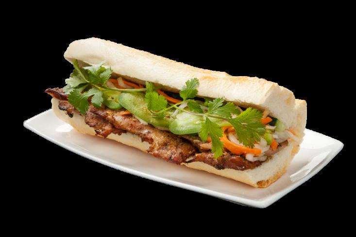 B3. Bánh Mì Gà Nướng